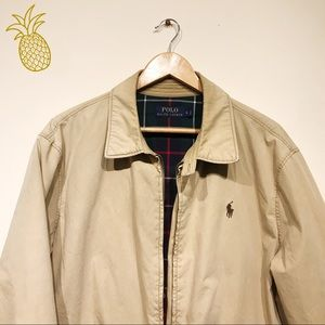 Polo Ralph Lauren Landon Cotton Windbreaker Tan